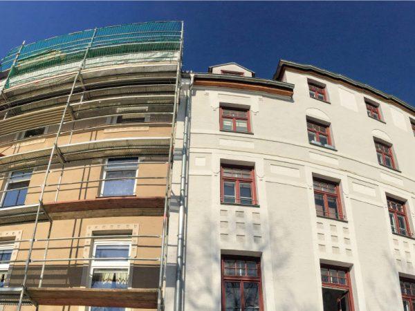Rehabilitación de fachadas por Projectes Dekor